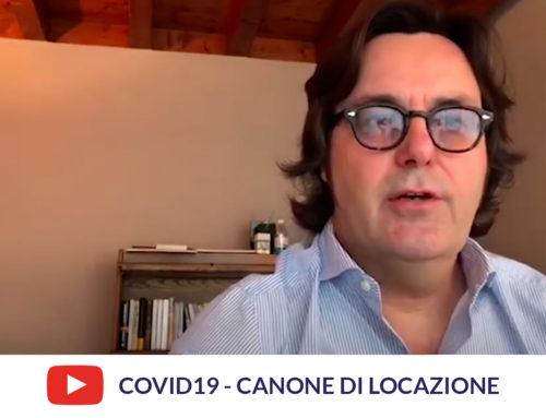 Covid-19: riduzione / sospensione del canone di locazione